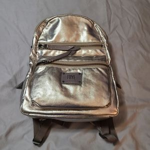 Frye Ivy Pewter Backpack NWT